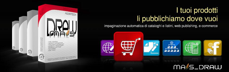 Impaginazione automatica cataloghi e listini, e-commerce